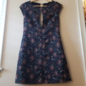 Free People Short Mini Casual Floral Dress Size 4